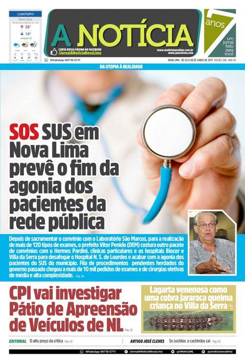 Jornal A Notícia - Edição 288