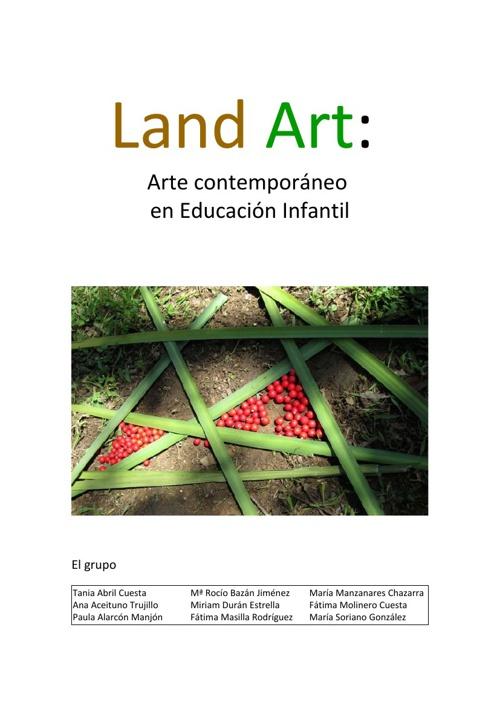 Land Art en la Escuela