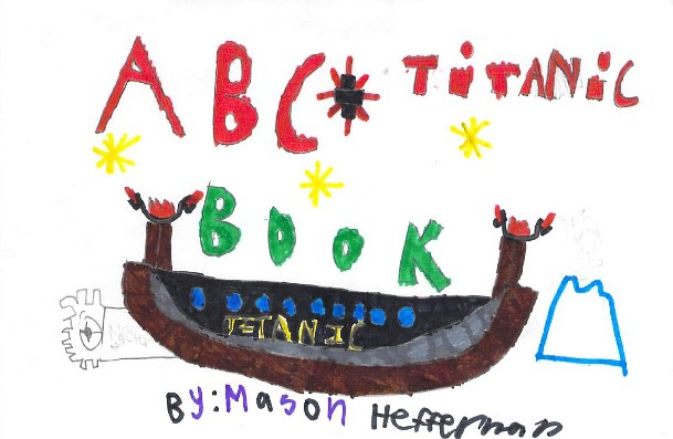 ABC Titanic Book by Mason