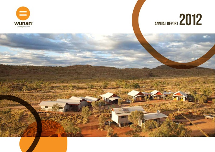 Wunan 2012 Annual Report