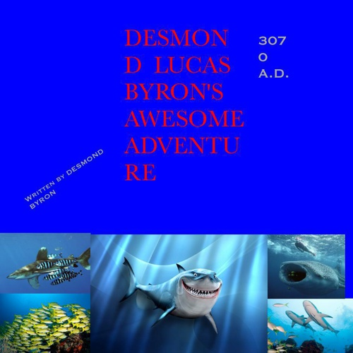 Desmond Byron's under water exploration