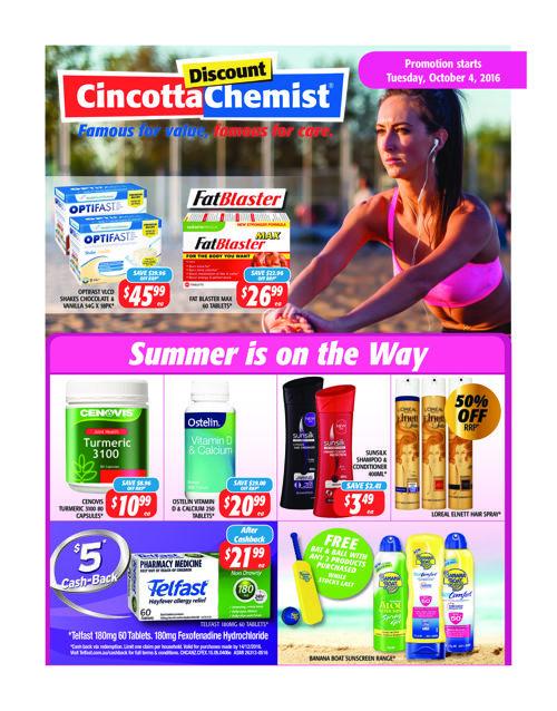 Cincotta October Catalogue