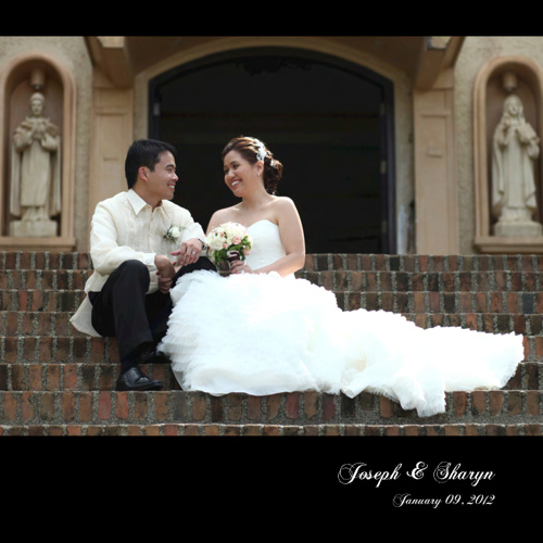 joseph sharyn wedding book 10x10