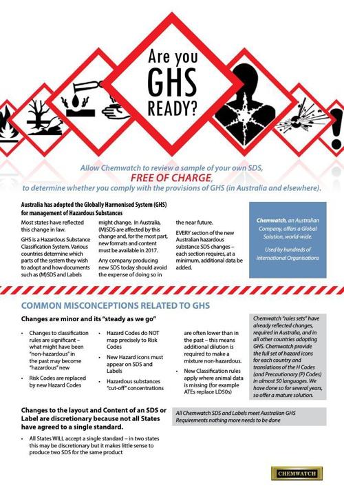 GHS Ready Brochure Australia v3