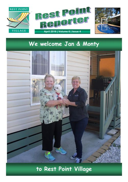 Rest Point Reporter - April 2016