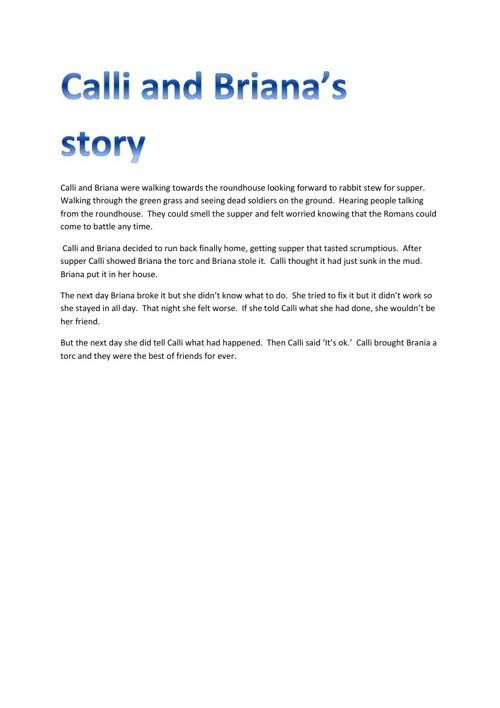 Calli and Briana's Story