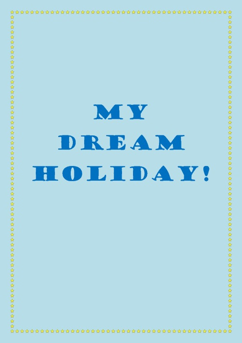 Copy of Sujin's Dream Destination