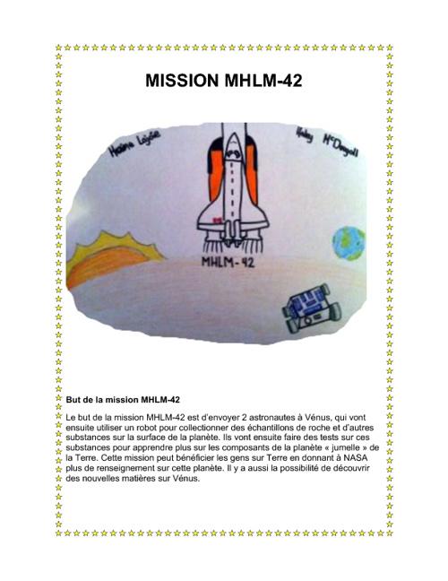 Mission à Vénus