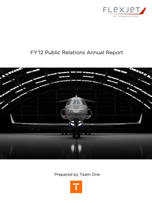 FY'12 Public Relations Annual Report