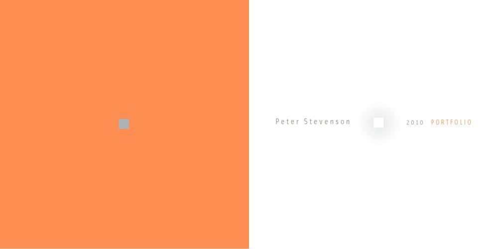 Peter Stevenson / Creative Portfolio