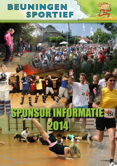 Beuningen Sportief - Sponsor informatie 2014