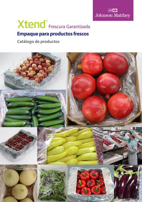 Catálogo de productos Xtend de Johnson Matthey en inglés
