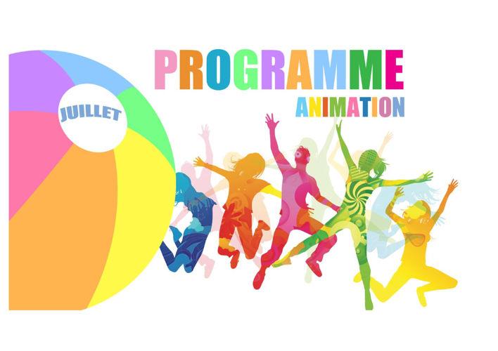 PROGRAMME ANIMATION JUILLET 2016
