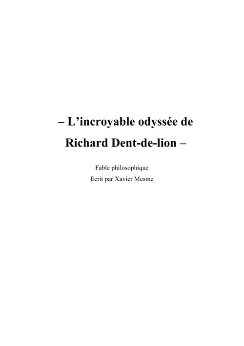 Richard Dent de Lion