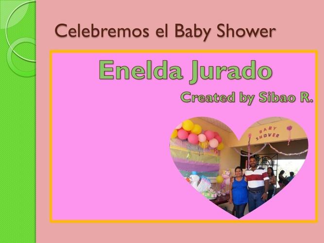 Celebremos el Baby Shower