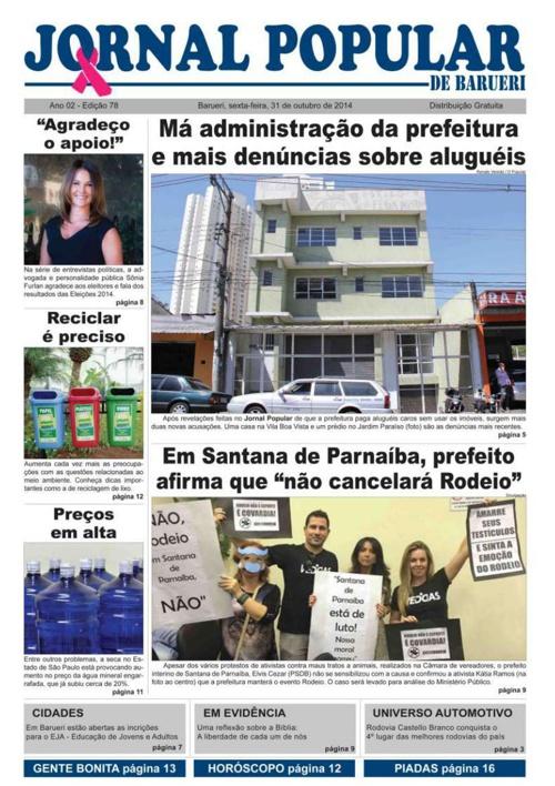 78ª edição do Jornal Popular de Barueri