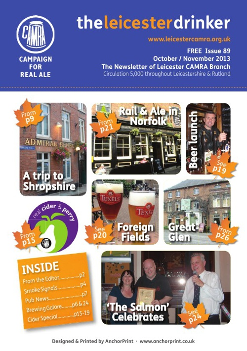 Leicester Drinker Oct / Nov 2013