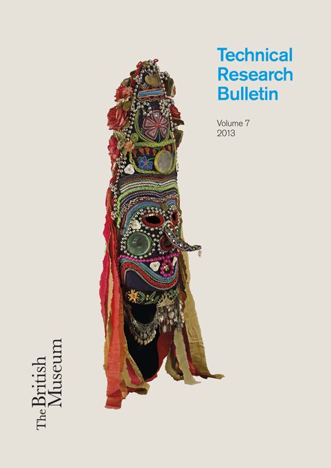The British Museum Technical Research Bulletin, Volume 7