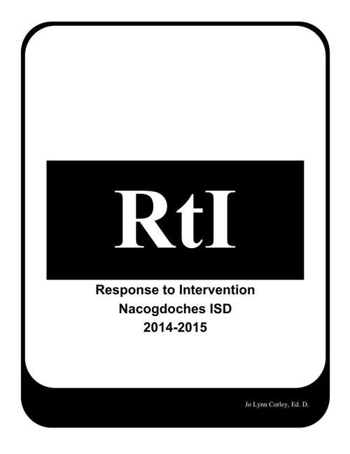 RTI Handbook 2014-2015