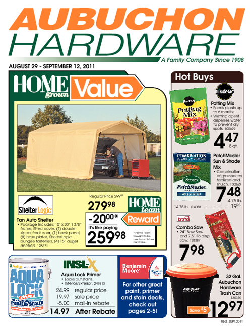 September 2011 Sales Flyer
