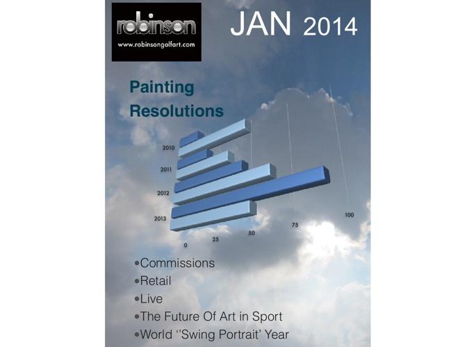 Robinson Golf Art January News Mag