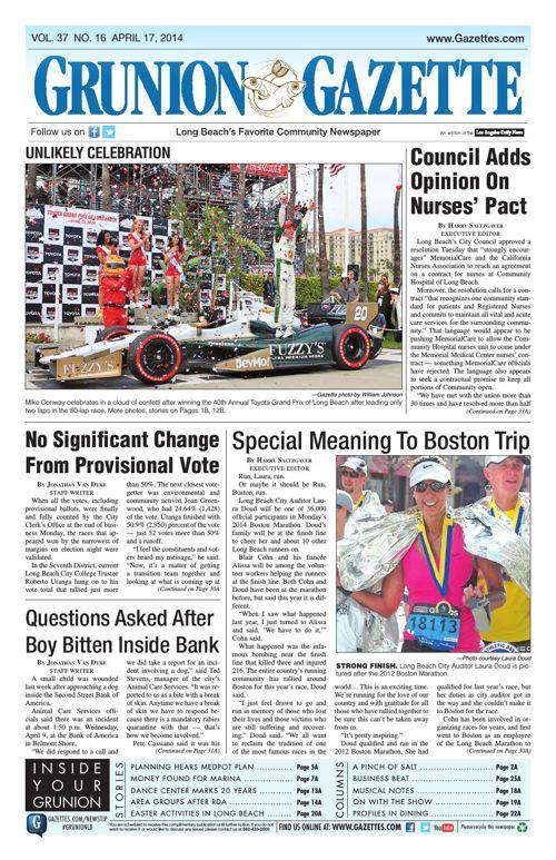 Grunion Gazette | April 17, 2014
