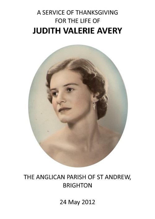 Judith Avery