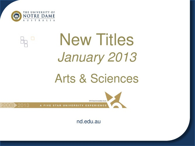 New Science Resources