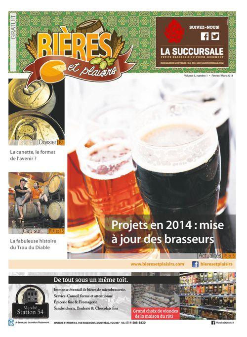 Bières et Plaisirs Volume 6 Numéro 1 - Février 2014