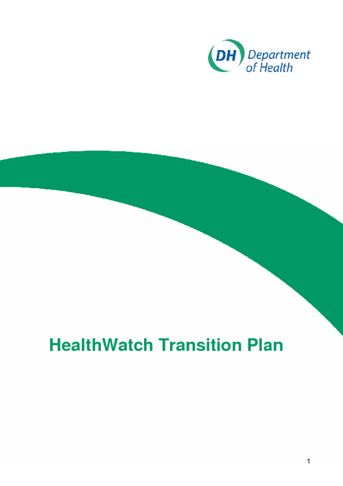 HealthWatch Transition Plan