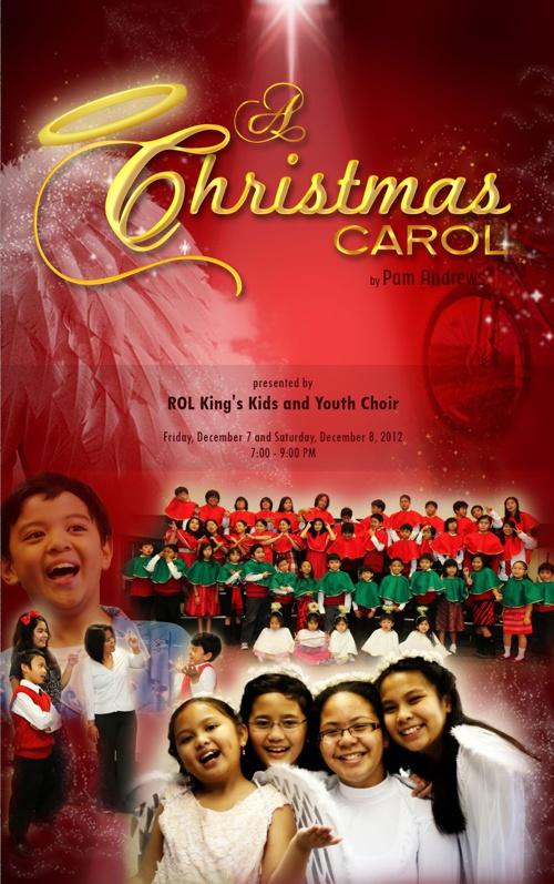 A Christmas Carol Souvenir Program