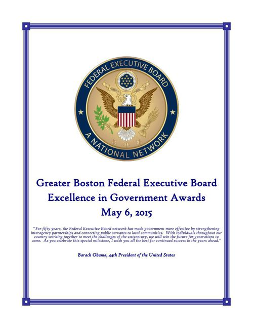 GBFEB Excellence in Government Awards