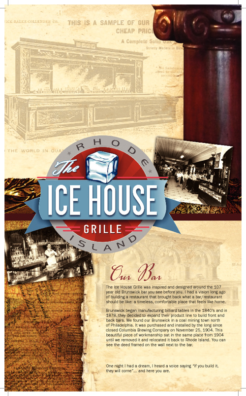 Ice House Menu 9-26-12