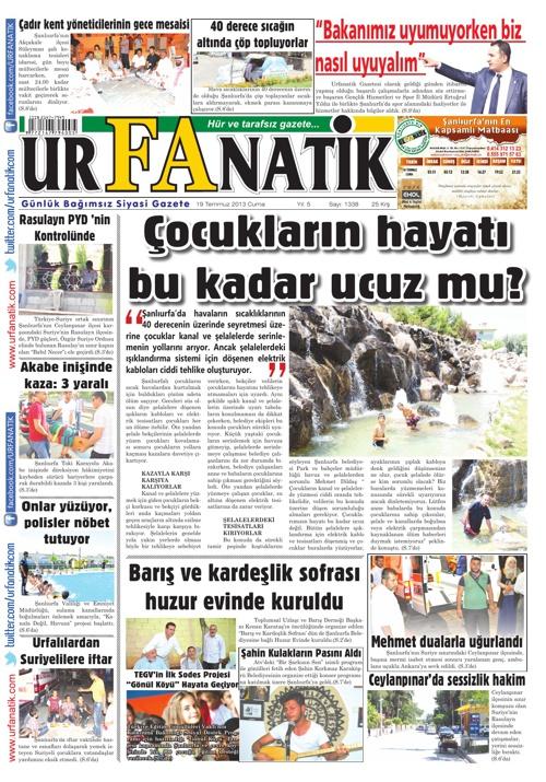 19 07 2013 / Urfanatik