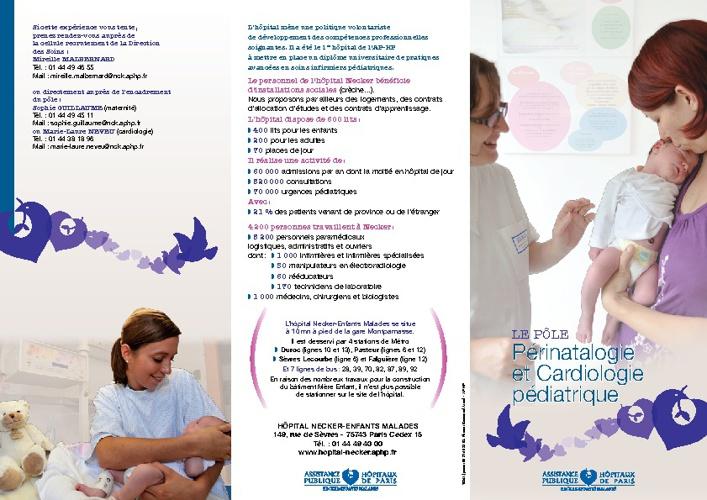 Pôle 3 : Périnatalogie et cardiologie pédiatrique