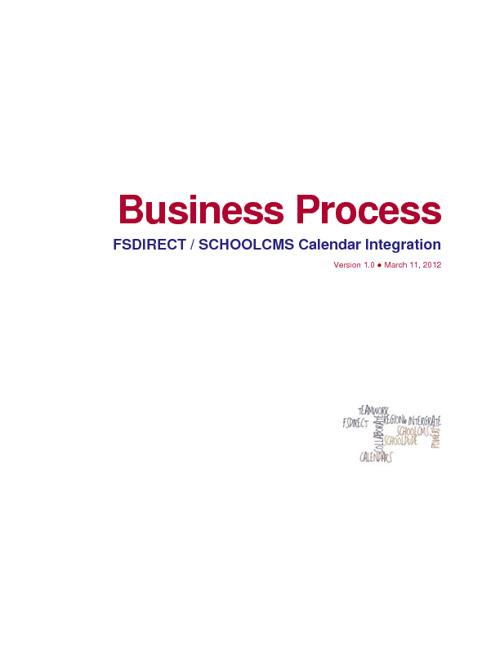 RSD6 FSDIRECT SCHOOLCMS INTEGRATION