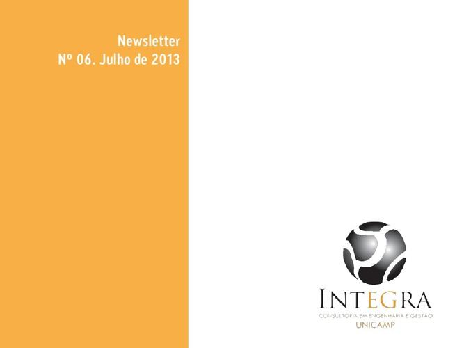 Newsletter Julho 2013