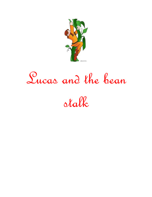 Lucas and the beanstalk