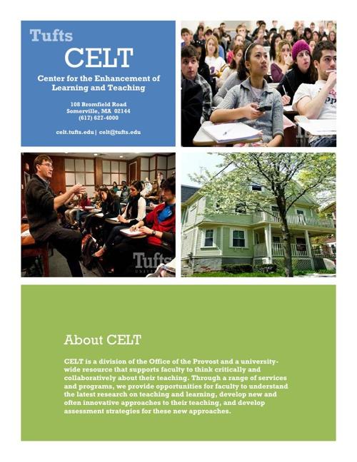 CELT Brochure