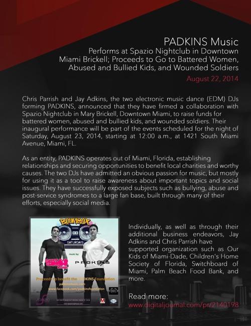 Padkins Press Packet