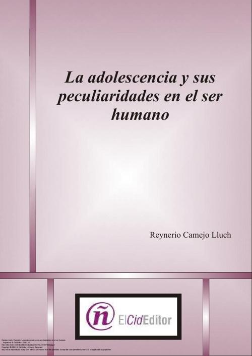LA ADOLESCENCIA Y SUS PECULIARIDADES