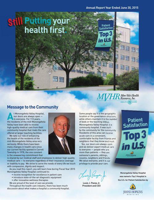 2015 MVH Annual Report