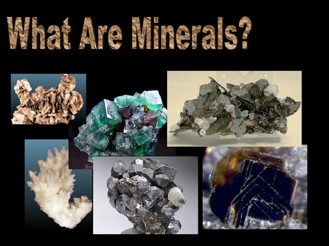 What's a mineral?
