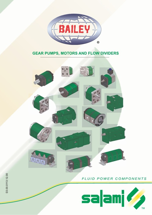 Bailey Stack-able Gear Pump Guide