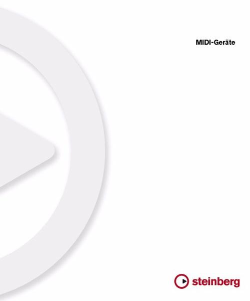 MIDI-Geräte in Cubase 5