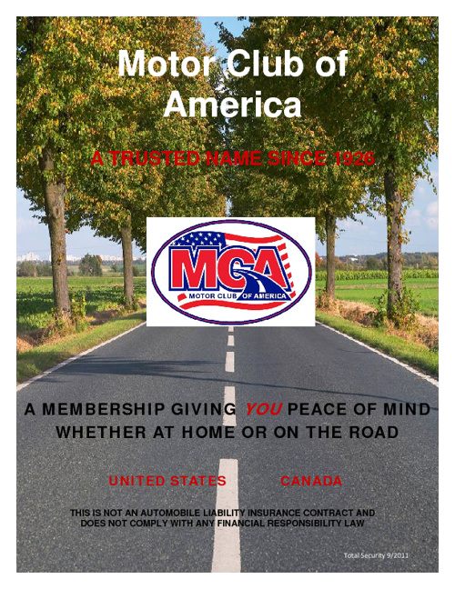 Motor Club of America join-mca.com/Katalin