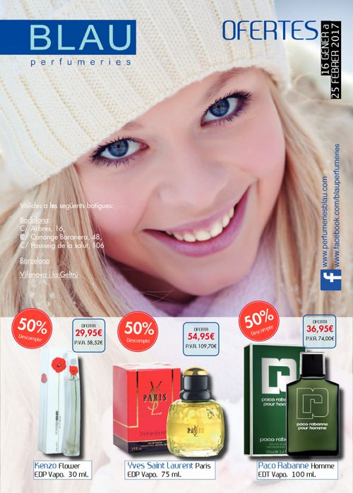 Folleto Enero Perfumeries Blau
