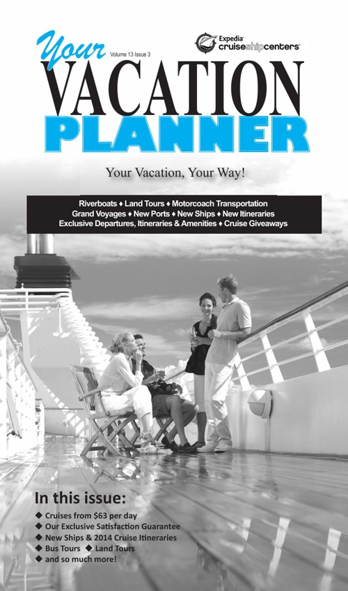 August 2013 Vacation Planner