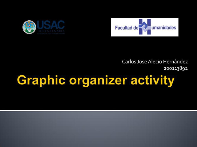 Graphic organizer activity