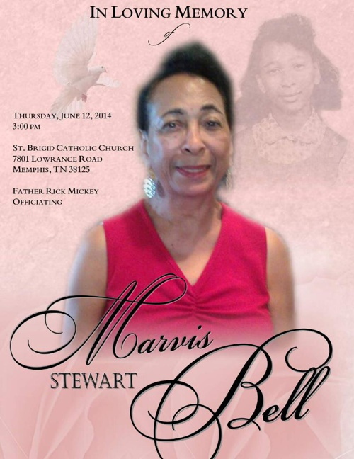 A Celebration of Life for Marvis Stewart Bell
